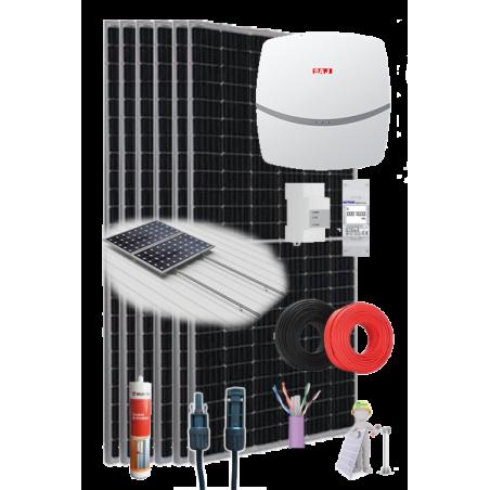 KIT SOLAR AUTOCONSUMO 3000W 11000WhDía