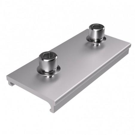 Extensión empalme perfil aluminio