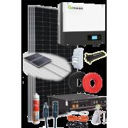 Kits solares autoconsumo híbrido